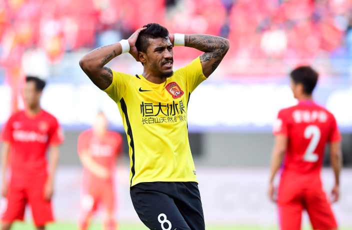 Evergrande Brazilian Star Paulinho in €25m Barcelona Move?