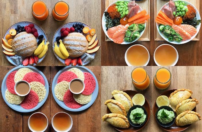 Two's a Pair: Symmetry Breakfast Insta Blog Moves to Shanghai