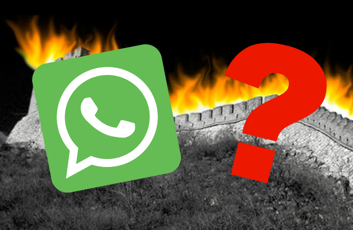 Noooo! WhatsApp Services Stop Working in China