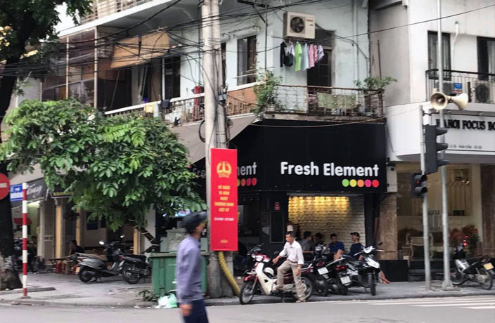 Element Fresh Knockoff 'Fresh Element' Spotted in Vietnam