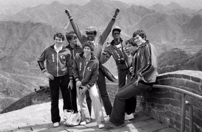 This Day in History: First NBA Team Plays in China