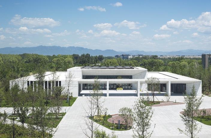 Inside Huawei's Super Futuristic Beijing Tech Factory