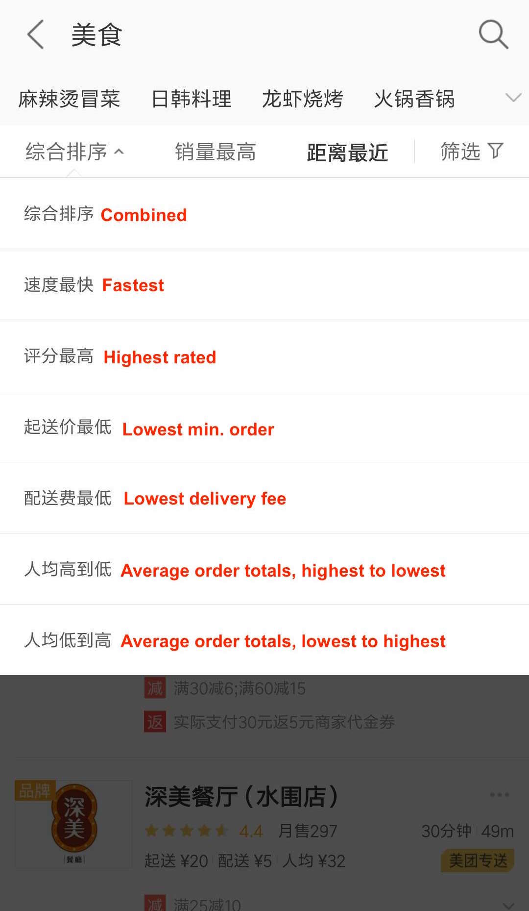 How to Order Delivery on China's Meituan Food App – That's Shanghai