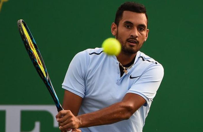 Nick Kyrgios Acts Like Total Baby at Shanghai Masters... Again