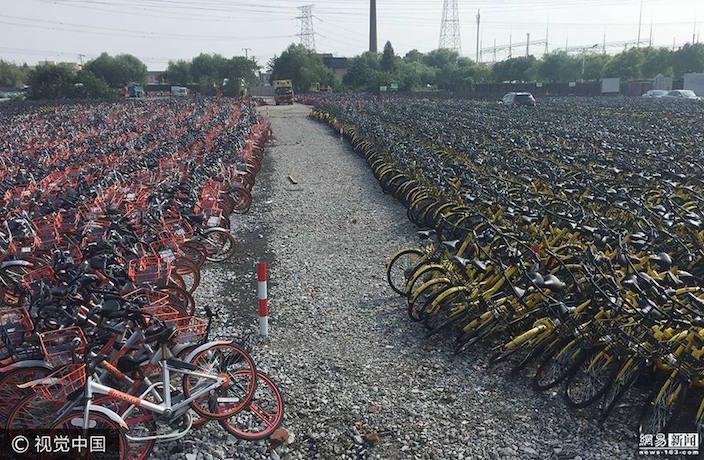 Bike share battle