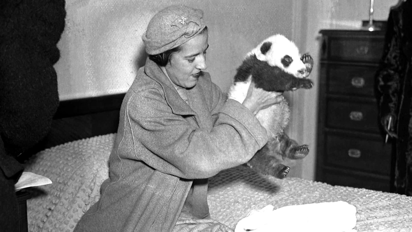 Ruth Harkness and Panda