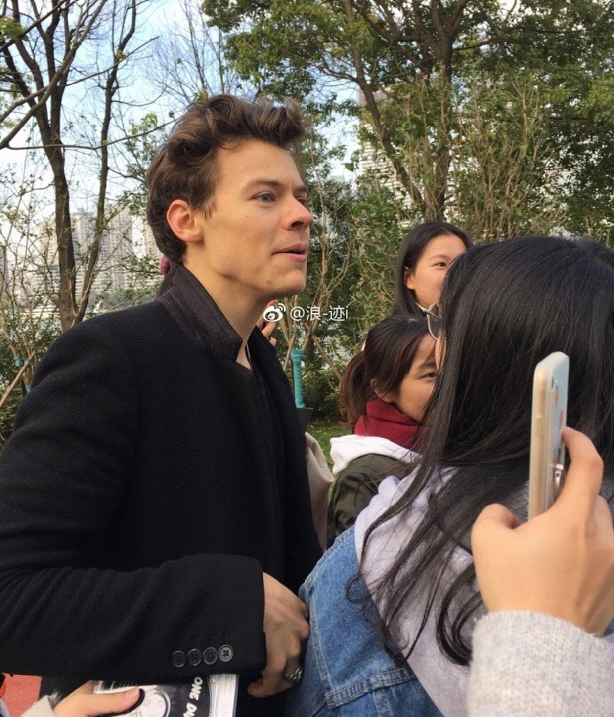 Harry Styles in Shanghai
