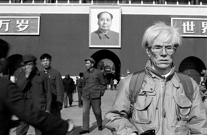 This Week in History: When Andy Warhol Came to China