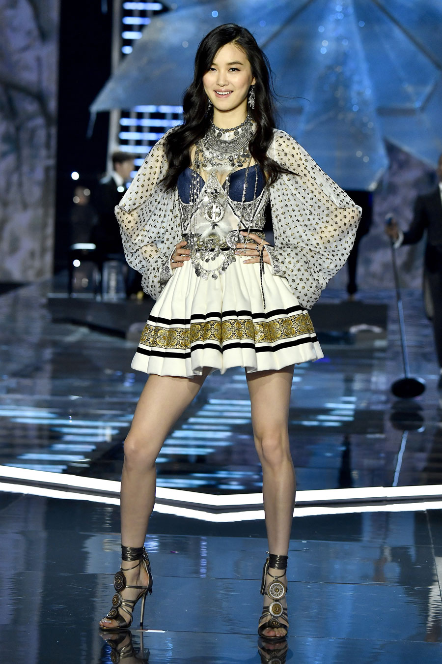 Estelle Chen at the Victoria's Secret Fashion Show in Shanghai