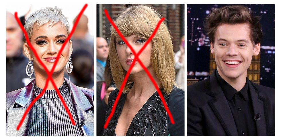 Katy Perry Taylor Swift Harry Styles