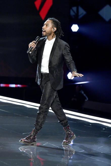 Miguel at the Victoria's Secret Fashion Show