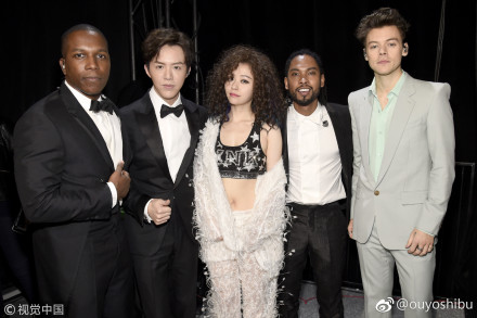 Leslie Odom Jr., Li Yundi, Jane Zhang, Miguel and Harry Styles