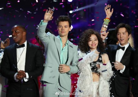 Lesli Odom Jr., Harry Styles, Jane Zhang and Li Yundi