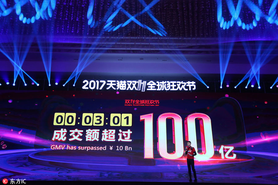Alibaba breaks records