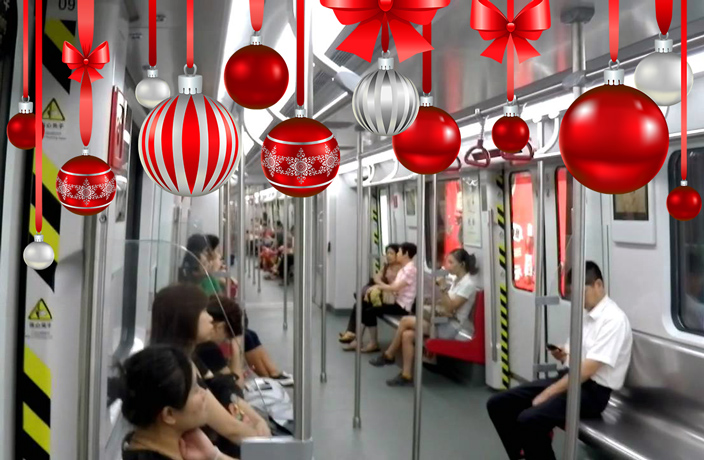 Metro Open Late for Christmas Eve in Guangzhou and Shenzhen