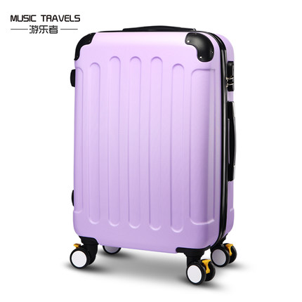 Music travels suitcase