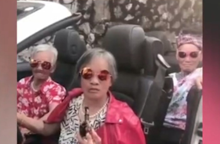 Sassy Livestreaming Chinese Grannies Go Viral