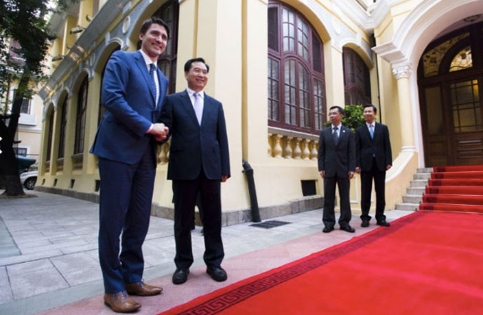 Canadian PM Trudeau Returns to Guangzhou After 22 Years for Fortune Global Forum
