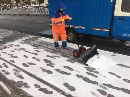 Snow in Shanghai