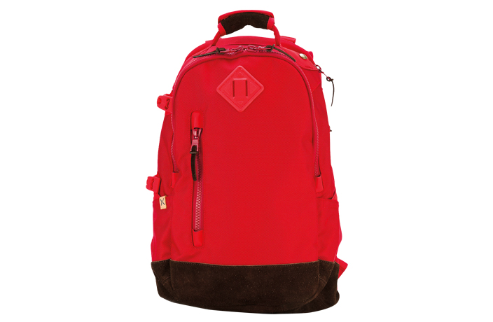 Men's red Visvim backpack