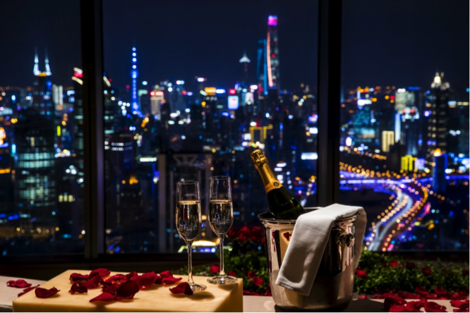 Valentine's Day Dining in Shanghai