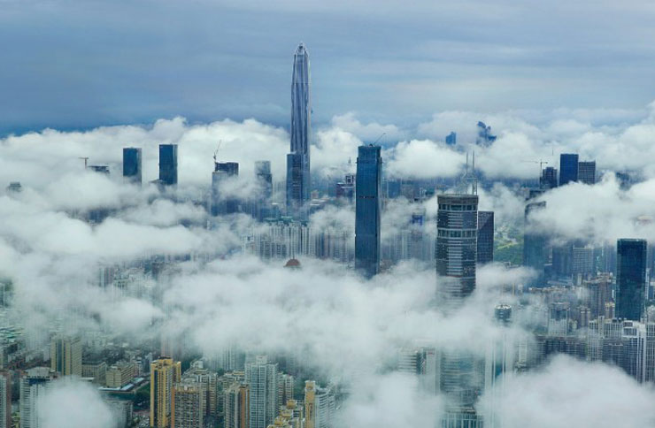 Above the Clouds in Shenzhen's Steel Titan: Ping An Finance Centre