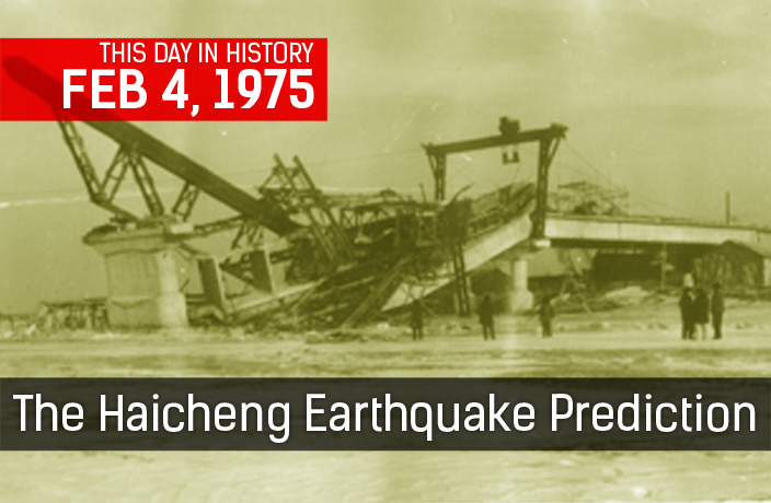 This Week in History: Haicheng Earthquake Prediction