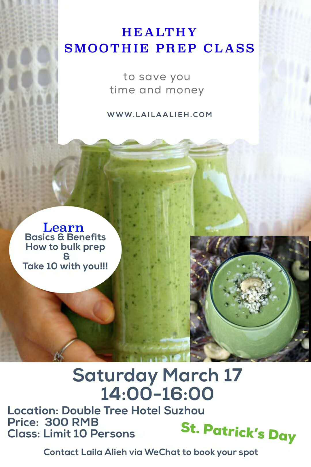 Healthy Smoothie Prep Class