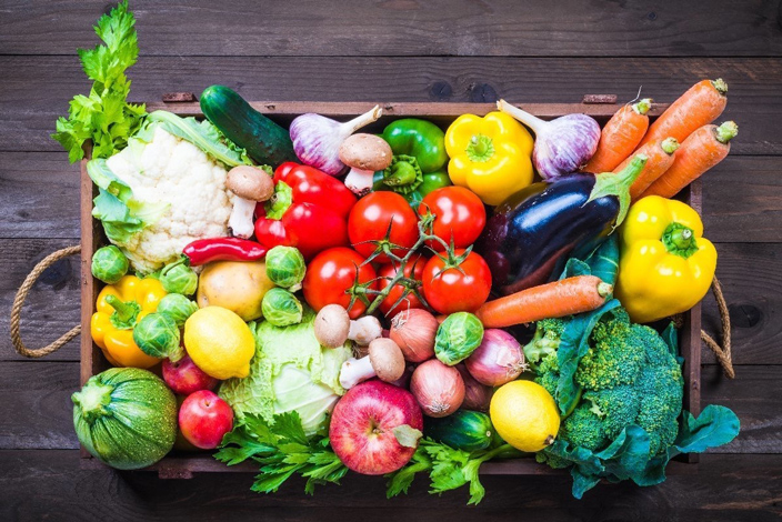 These Organic Fruit & Veggie Boxes Are Now on Sale