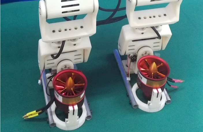Chinese Iron Man-Inspired Robot Has Jet-Powered Feet, Does Splits