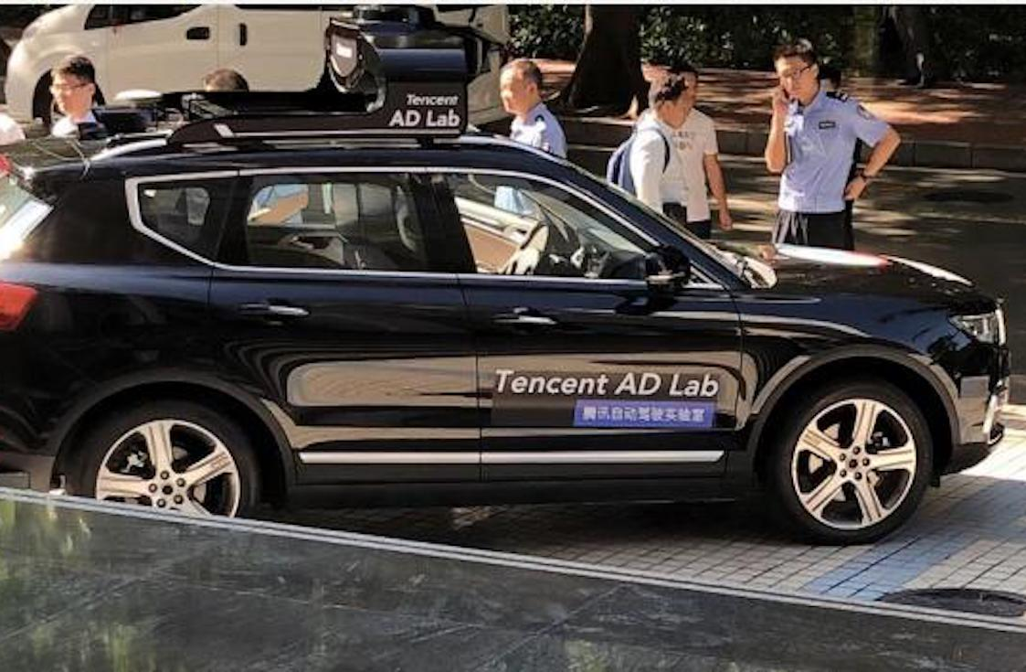 Tencent Gets Green Light to Test Self-Driving Car in Shenzhen