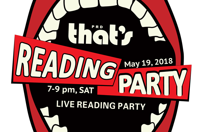 Buy Your Tickets to That's PRD's Live Reading Party Spring 2018
