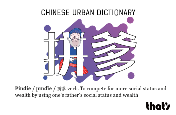 Chinese Urban Dictionary: Pindie