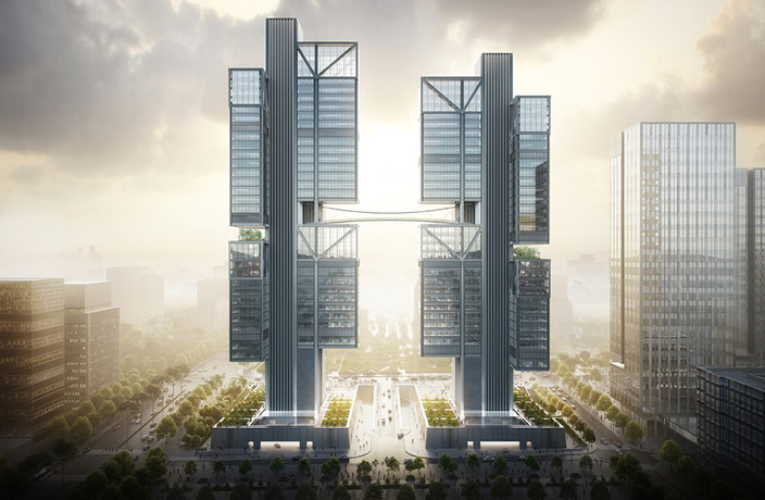 China's Drone Giant to Get Futuristic New Headquarters in Shenzhen