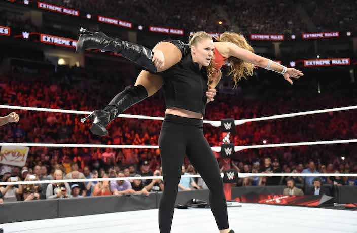 WWE Live in Shanghai with Ronda Rousey Tickets Now on Sale
