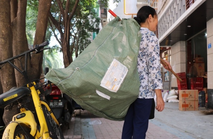 Man on the Street: Recycling Scavenger