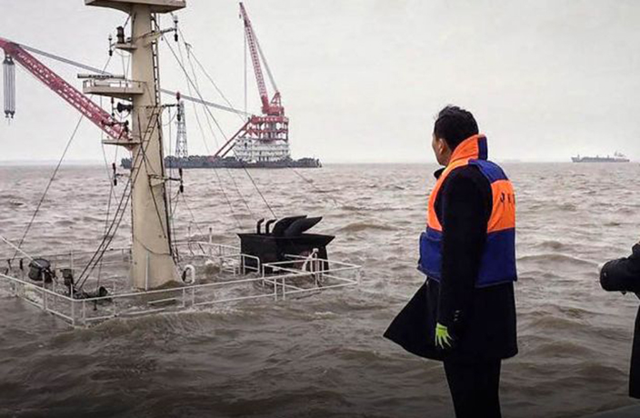 5 Bodies Recovered, 5 Missing After Cargo Ship Sinks Near Shanghai