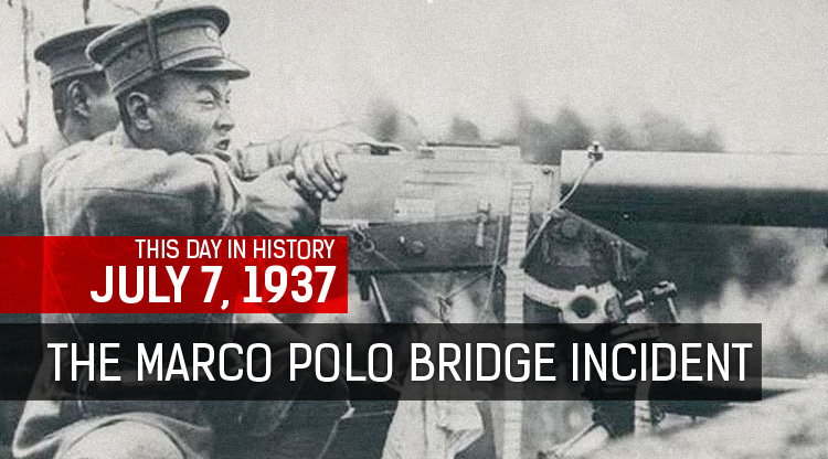 This Week in History: The Marco Polo Bridge Incident
