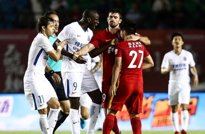 Demba Ba Victim of Racial Abuse in Chinese Super League