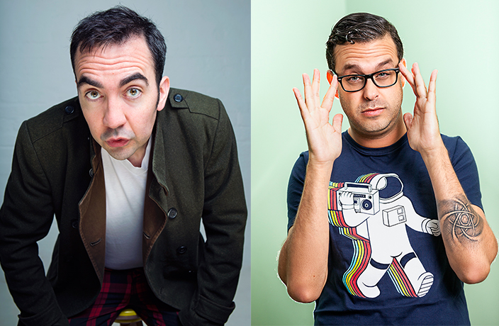 Last Chance to Buy Tickets for Joe DeRosa & Stephen Carlin Standup Show