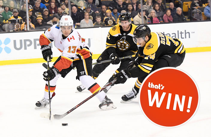 WIN! Tickets to NHL's Flames vs. Bruins Game in Beijing