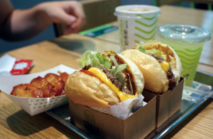 Shenzhen's Battle of the Burgers
