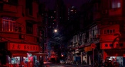 Stunning Red-Colored Images of Shanghai from Photographer Cody Ellingham