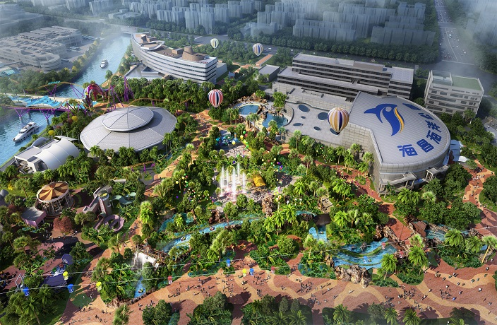 World's Largest Ocean Park Set to Open in Shanghai October 1