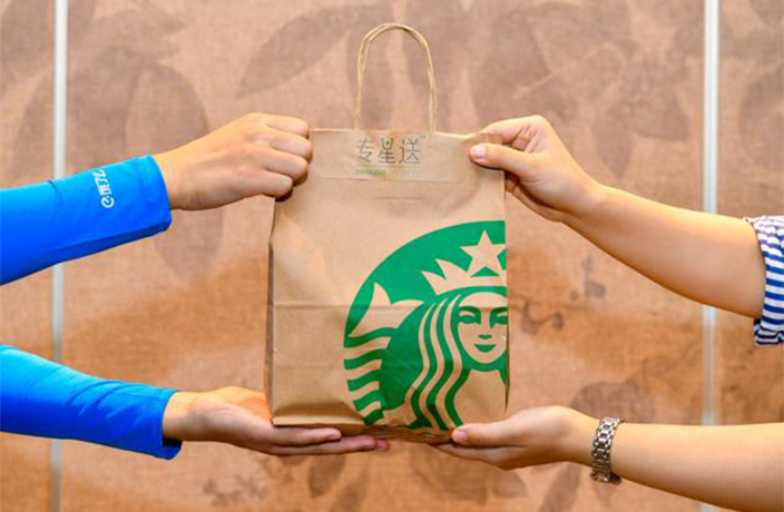 You Can Now Get Starbucks Delivered in China