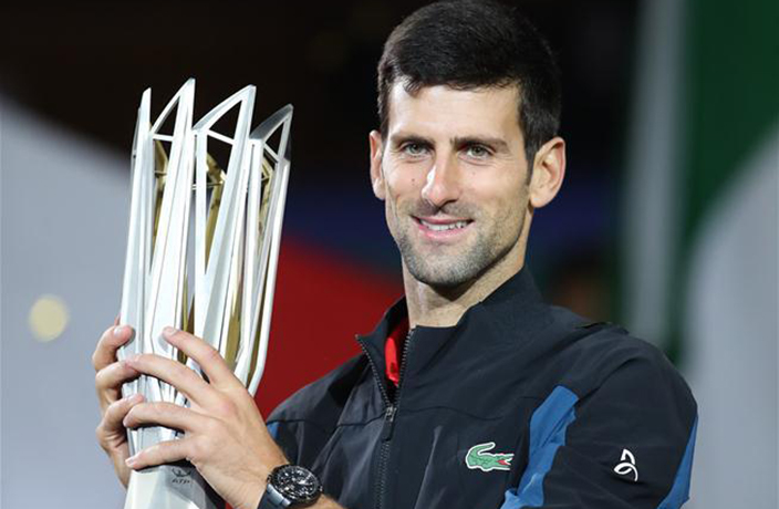 Novak Djokovic Reigns Victorious at the 2018 Shanghai Masters