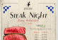 Steak Night at Zeitgeist