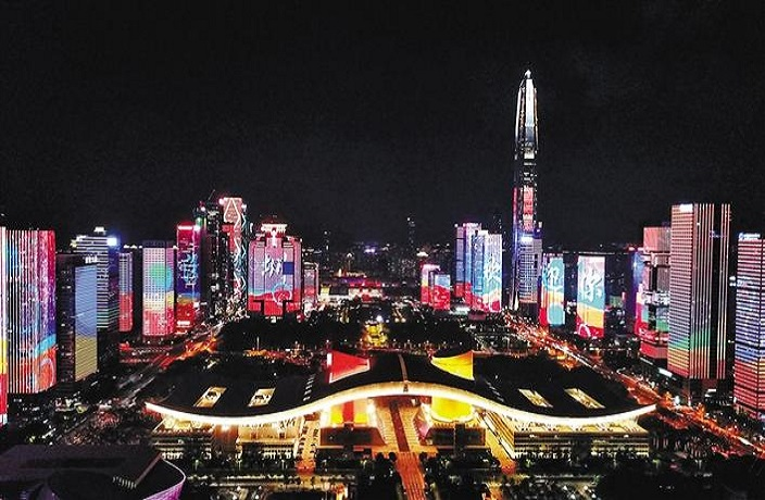 Shenzhen Metro to Take Crowd-Control Measures During Light Show