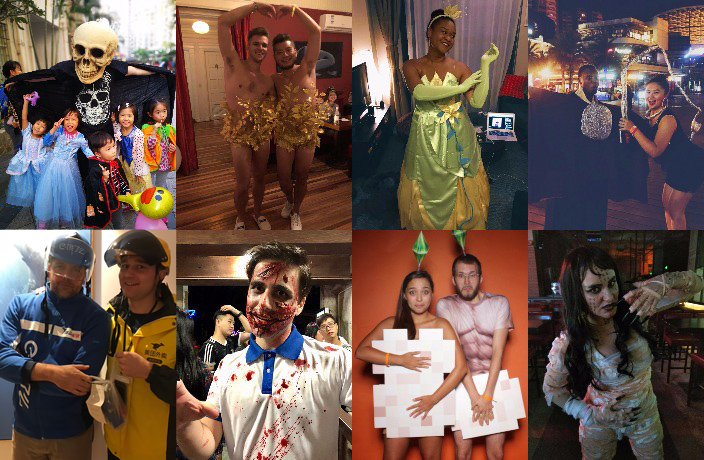 Vote for China's Best 2018 Halloween Costume