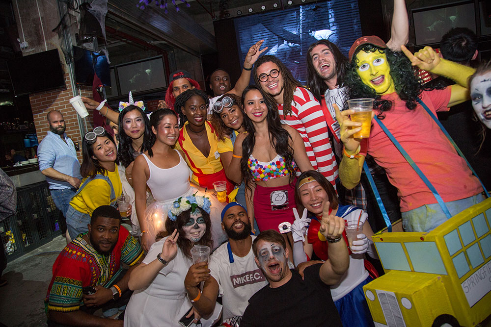 That's Shanghai Halloween Party 2018 at Cages